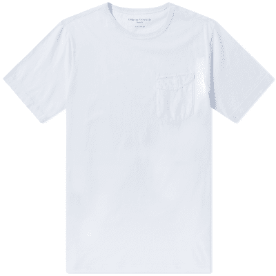 Officine Generale Pigment Dyed Ice Cotton Pocket Tee