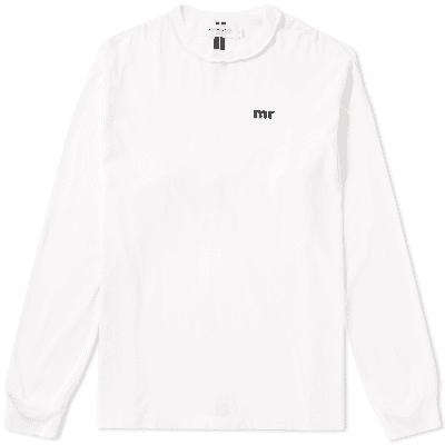 Mr. Completely Long Sleeve Logo Tee