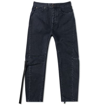 Unravel Project Slim Drop Crotch Jeans