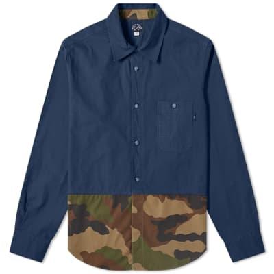 Bleu de Paname Butterfly Overshirt