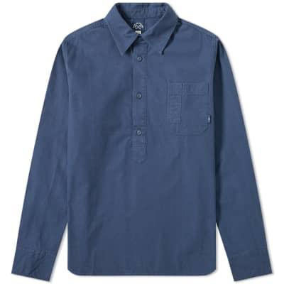 Bleu de Paname Naval Popover Shirt