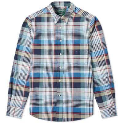 Gitman Vintage Big Plaid Shirt