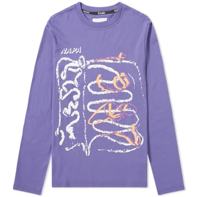 Napa by Martine Rose Long Sleeve S-Senales Tee