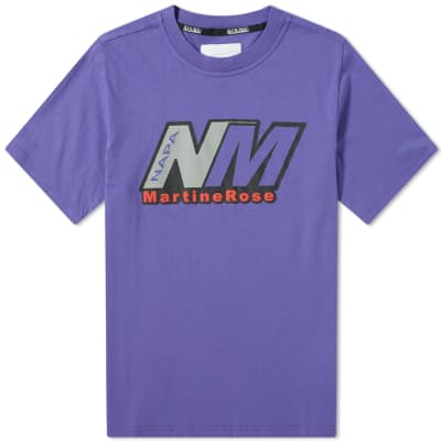 Napa by Martine Rose S-Cenis Logo Tee