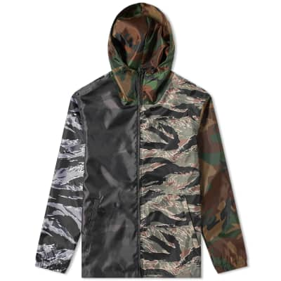 SOPHNET. Light Weight Zip-Up Jacket