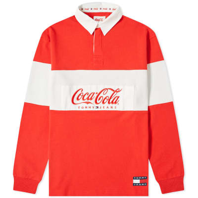Tommy Jeans x Coca-Cola Rugby Shirt