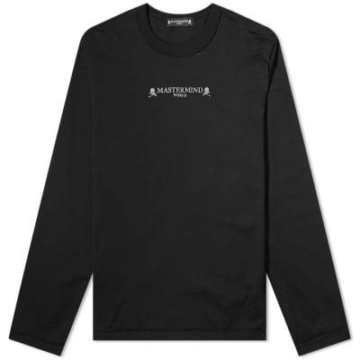 MASTERMIND WORLD Long Sleeve Logo Boxy High Tee