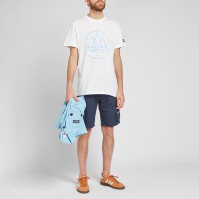 Adidas SPZL Mod Trefoil Tee Shirt