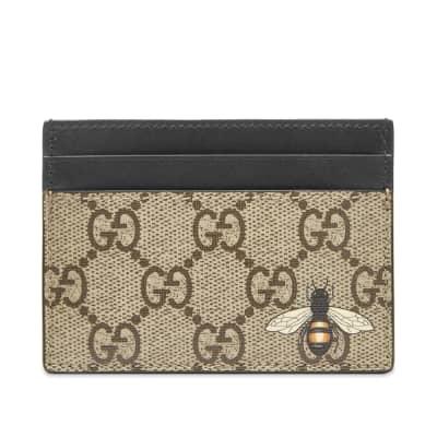 Gucci GG Supreme Bee Card Holder