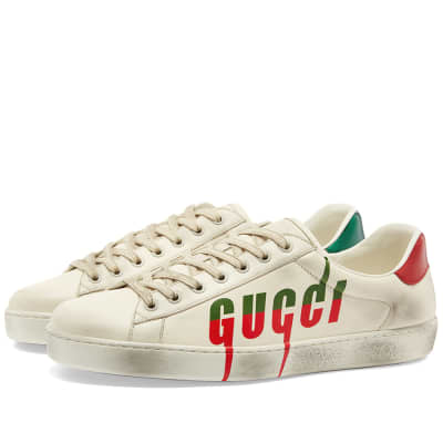 Gucci New Ace Blade Logo Sneaker