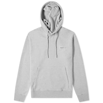 "Off-White ""LOGO"" Slim Popover Hoody"