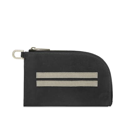 Rick Owens Zip Pouch Wallet