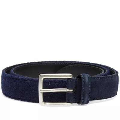 Anderson's Harris Tweed & Suede Belt