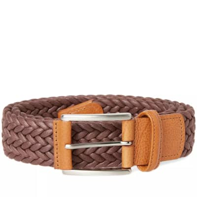 Anderson's Waxed Canvas Woven Belt