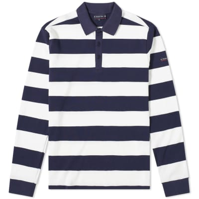 Armor-Lux 76876 Stripe Rugby Shirt