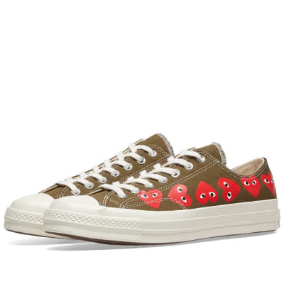 732670debe86b Comme des Garcons Play x Converse Chuck Taylor Multi Heart 1970s Ox