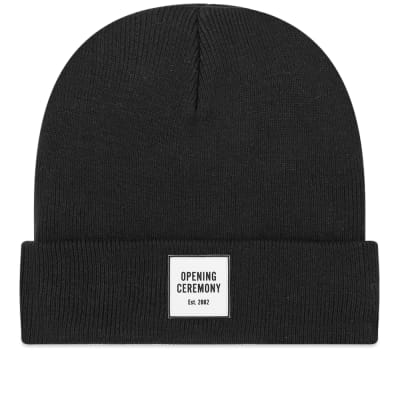 finest selection dacce dd857 Opening Ceremony Logo Knit Beanie