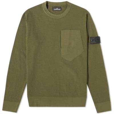 6b0dfbdd7b20d Stone Island Shadow Project Pure Cotton Crew Knit