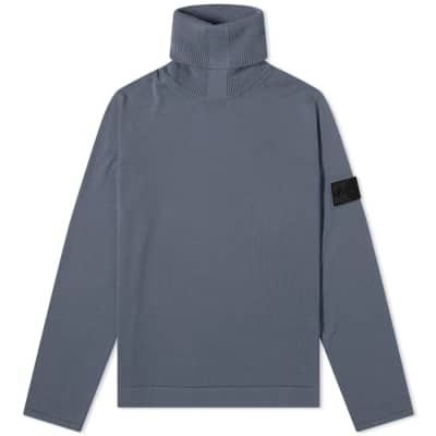 85cc281393 Stone Island Shadow Project Pure Cotton Roll Neck Knit