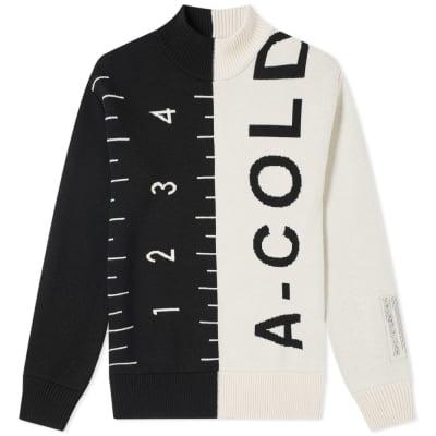 A-COLD-WALL* Jacquard Split Garment Knit