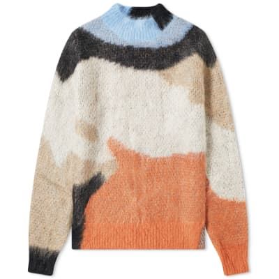 Ambush Mohair Striped Knit