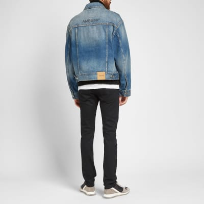 Ambush Washed Logo Denim Jacket