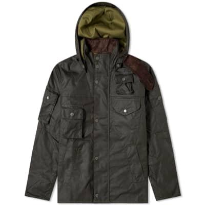 Barbour x Engineered Garments Cowen Wax Jacket