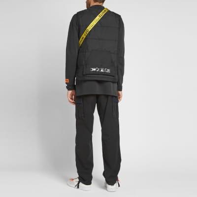 Heron Preston Multipockets Vest
