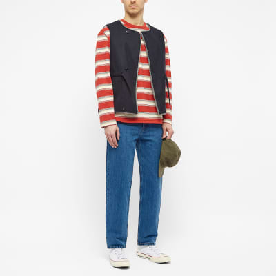 Arpenteur Long Sleeve Match Stripe Tee