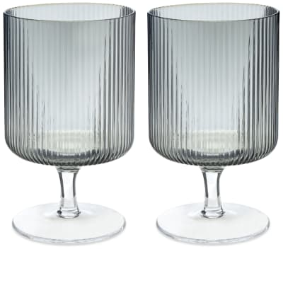 Ferm Living Ripple Wine Glasses - Set of 2
