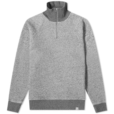 Norse Projects Alfred French Terry 1/4 Zip Sweat