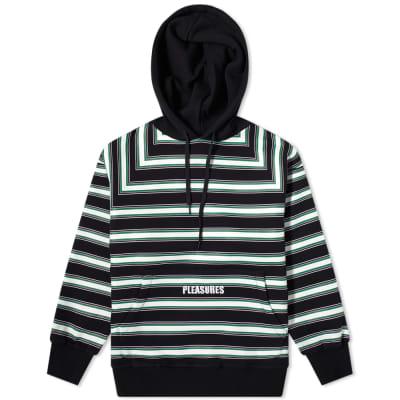 PLEASURES Lost Stripe Hoody