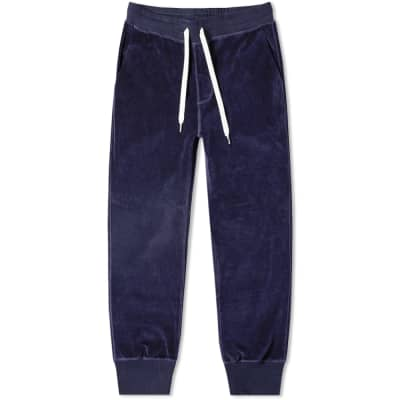 AMI Velour Drawstring Sweat Pant