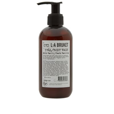 L:A Bruket Dark Vanilla Hand & Body Wash