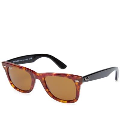 Ray Ban Original Wayfarer Fleck Sunglasses