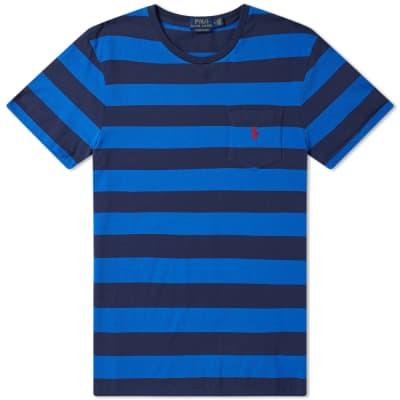 Polo Ralph Lauren Bold Stripe Pocket Tee