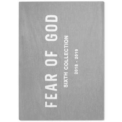 Fear Of God Chenille Embroidered Throw