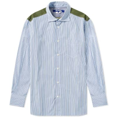 Junya Watanabe MAN Patchwork Camo Shirt
