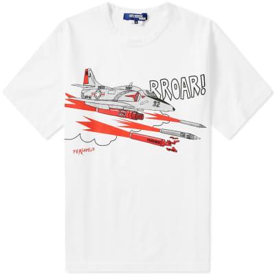 Junya Watanabe MAN x Fergadelic Airplane Tee