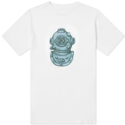 Nanamica CoolMax Loopwheel Graphic Tee