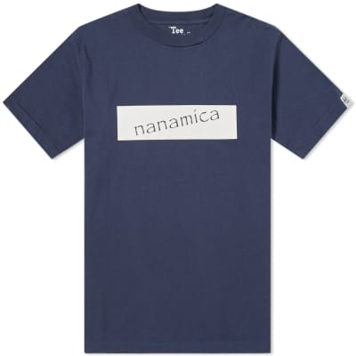 Nanamica Logo Tee