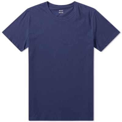 A.P.C. Washed Crew Tee