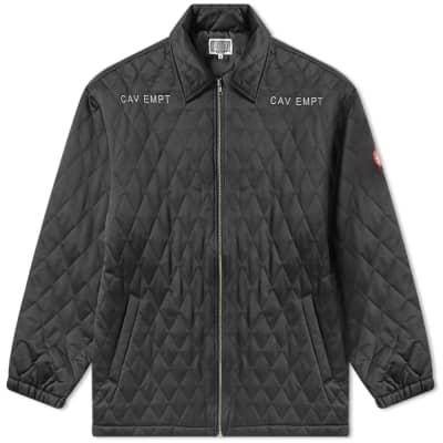 Cav Empt Quilt Zip Jacket