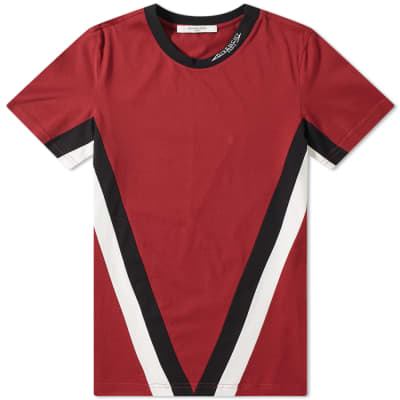 Givenchy V Band Logo Collar Tee