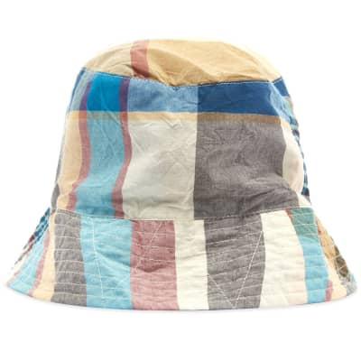 Engineered Garments Madras Bucket Hat