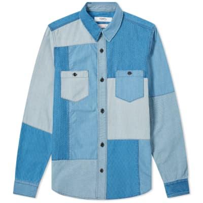 9ce37ce3 FDMTL Boro Patchwork Shirt