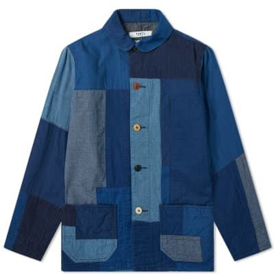 FDMTL Sashiko Coverall Jacket