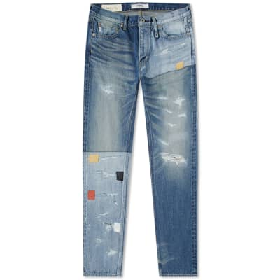 FDMTL Slim Fit Straight Denim Jean