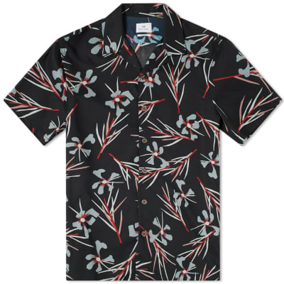 Paul Smith Floral Print Vacation Shirt