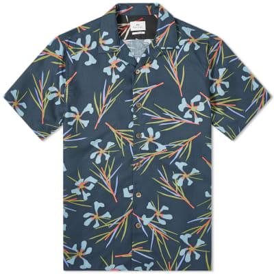 Paul Smith Floral Print Vacation Shirt